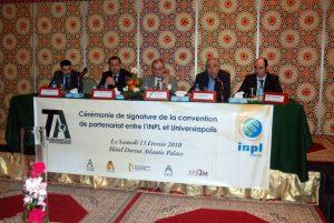 Signature-de-la-convention-de-partenariat-entre-l'École-Polytechnique-d'Agadir-et-l'INPL-–-Nancy