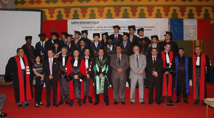 La-cérémonie-de-diplômation-de-la-3ème-promotion-de-l'Ecole-Polytechnique-d'Agadir-722x400